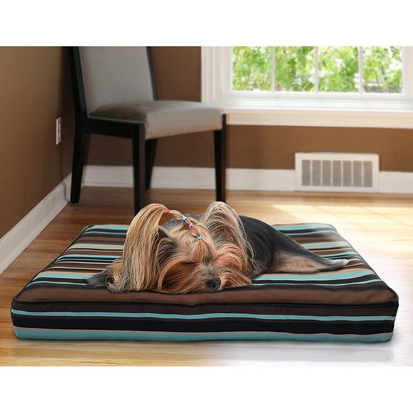 furhaven deluxe indoor outdoor orthopedic pet dog bed free shipping on orders over 45