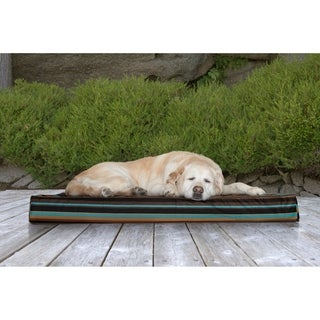 FurHaven Water-Resistant Deluxe Indoor/ Outdoor Orthopedic Pet/ Dog Bed