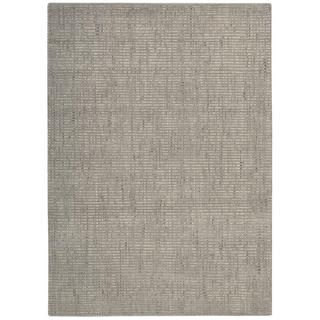 Barclay Butera Intermix Smoke Area Rug by Nourison (3'6 x 5'6)