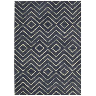 Barclay Butera Intermix Storm Area Rug by Nourison (5'3 x 7'5)