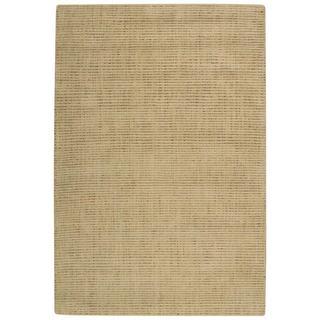Barclay Butera Intermix Wheat Area Rug by Nourison (5'3 x 7'5)