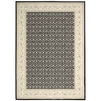 Nourison Persian Empire Black Rug