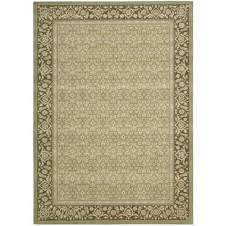 Nourison Persian Empire Green Rug (5'3 x 7'5)