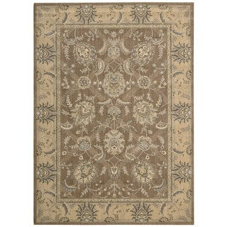 Nourison Persian Empire Mocha Rug (5'3 x 7'5)