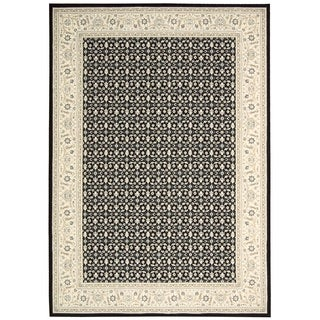Nourison Persian Empire Black Rug (5'3 x 7'5)