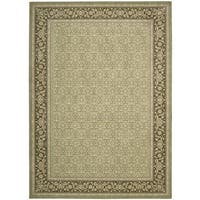 Nourison Persian Empire Green Rug - 7'9 x 10'10