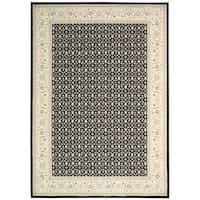 Nourison Persian Empire Black Rug (7'9 x 10'10) - 7'9 x 10'10