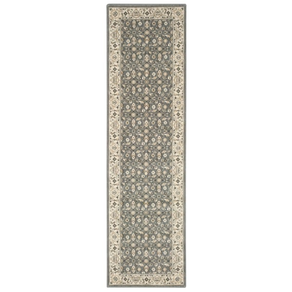 Nourison Persian Empire Silver Runner Rug (2'3 x 8')