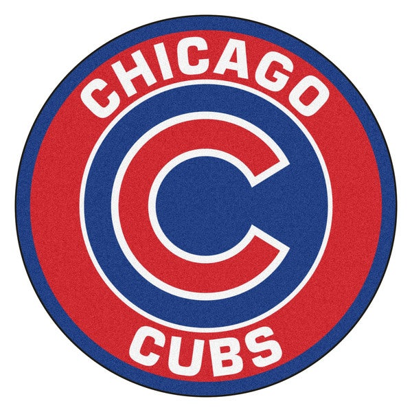 MLB Chicago Cubs Roundel Mat (2'3 x 2'3)