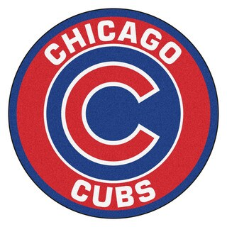 MLB Chicago Cubs Roundel Mat (2'3 x 2'3)