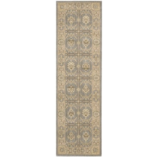 Nourison Persian Empire Slate Runner Rug (2' x 7')