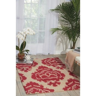Barclay Butera Ampur Garnet Area Rug by Nourison (3'6 x 5'6)