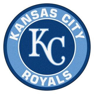Fanmats MLB Kansas City Royals Blue Nylon Roundel Mat (2'3 x 2'3)