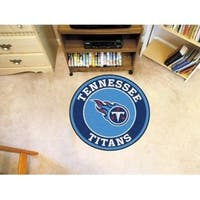"NFL - Tennessee Titans Roundel Mat 27"" diameter"