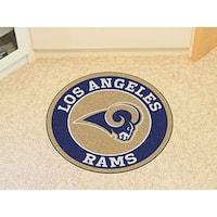 "NFL - Los Angeles Rams Roundel Mat 27"" diameter"