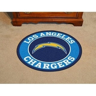 Fanmats NFL San Diego Chargers Blue Nylon Roundel Mat (2'3 x 2'3)