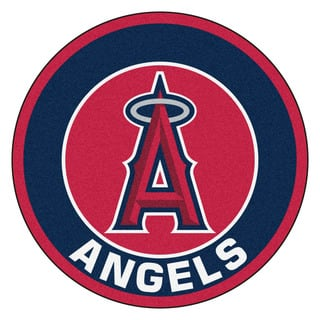 Fanmats MLB Los Angeles Angels Red Nylon Roundel Mat (2'3 x 2'3)|https://ak1.ostkcdn.com/images/products/10314690/P17426610.jpg?impolicy=medium