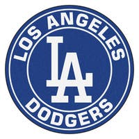 Fanmats MLB Los Angeles Dodgers Blue Nylon Roundel Mat (2'3 x 2'3)