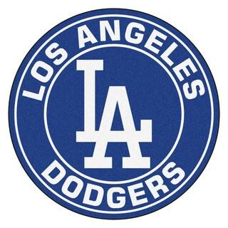Fanmats MLB Los Angeles Dodgers Blue Nylon Roundel Mat (2'3 x 2'3)