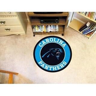 """NFL - Carolina Panthers Roundel Mat 27"""" diameter"""
