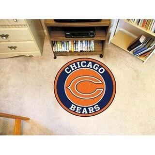 """NFL - Chicago Bears Roundel Mat 27"""" diameter"""
