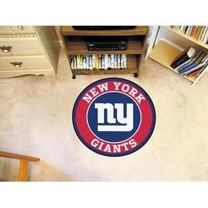 """NFL - New York Giants Roundel Mat 27"""" diameter"""