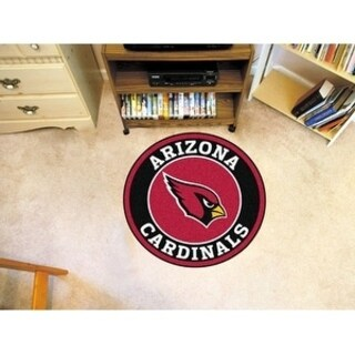 "NFL - Arizona Cardinals Roundel Mat 27"" diameter"