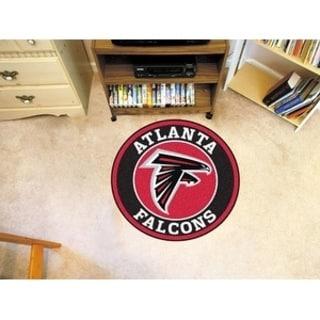 Fanmats NFL Atlanta Falcons Red Nylon Roundel Mat (2'3 x 2'3)