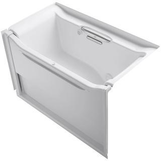 Kohler Elevance 5 feet Right Drain Air Bath Tub in White