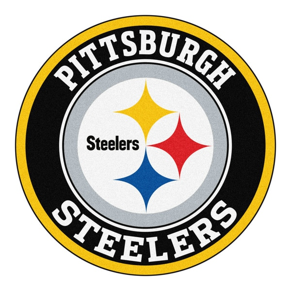 Fanmats Nfl Pittsburgh Steelers Gold And Black Nylon