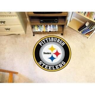 Nfl Pittsburgh Steelers Roundel Mat 27 Diameter
