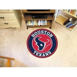 Fanmats NFL Houston Texans Red Nylon Roundel Mat (2'3 x 2'3)