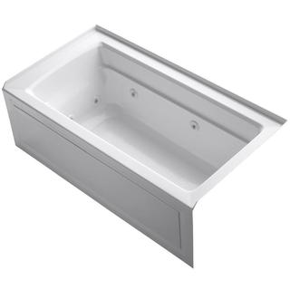 Kohler Archer 5-foot Whirlpool White Right Drain Tub