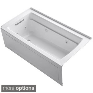 Kohler Archer 5 Foot Whirlpool Tub in White
