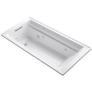 Kohler Archer White 6-Foot Whirlpool Bathtub