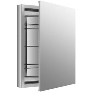 Kohler Verdera 24-inch Anodized Aluminum Recessed Medicine Cabinet