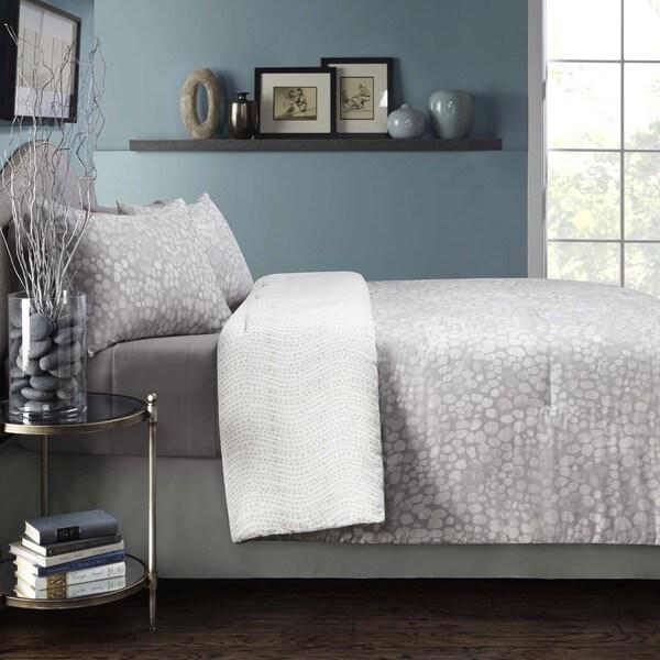 Grove Hill River Rocks Cotton 4-piece Comforter Set