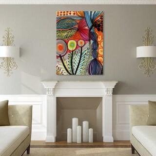 Palm Canyon U0027Vivacesu0027 Gallery Wrapped Canvas Art