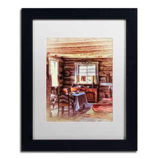 Lois Bryan 'The Heart of the Home' Black Framed Canvas Art