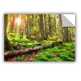 ArtWall Dragos Dumitrascu ' Back To Green ' Art Appealz Removable Wall Art (4 options available)
