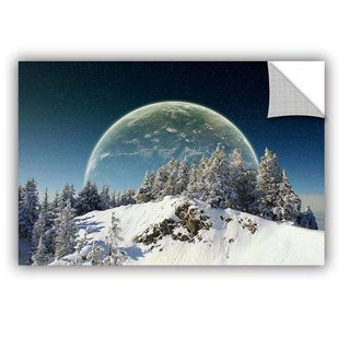 ArtWall Dragos Dumitrascu ' Once In December ' Art Appealz Removable Wall Art