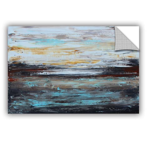 ArtWall Jolina Anthony 'Abstract Cold ' Art Appealz Removable Wall Art
