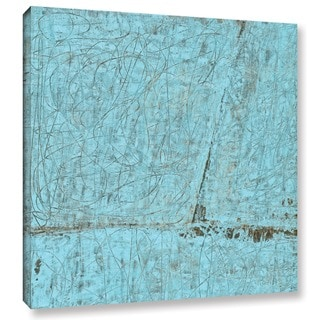ArtWall Elena Ray ' Cyan Swirl ' Art Appeals Removable Wall Art
