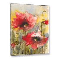 ArtWall Karin Johannesson 'Poppies Iii' Gallery-wrapped Canvas