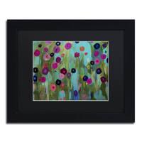 Carrie Schmitt 'Time To Bloom' Framed Canvas Wall Art