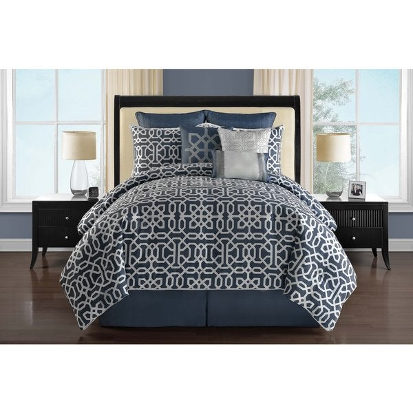 VCNY Westerly Reversible 9-piece Comforter Set