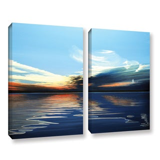 ArtWall Ken Kirsh 'Quiet Reflections' 2 Piece Gallery-wrapped Canvas Set