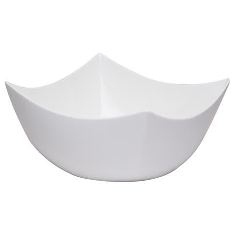 """Vanilla Fare Square Bowl Large 10"""" x 9.5"""" 108oz"""