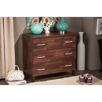 Porch & Den Victoria Park Flagler 3-drawer Wood Chest