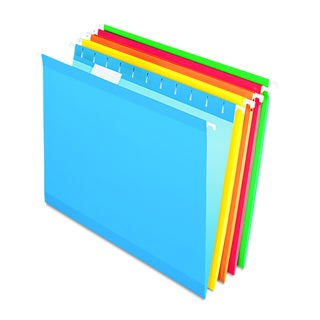 Pendaflex Reinforced Assorted Hanging Folders